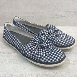 Baretraps Gingham Slip On Shoe